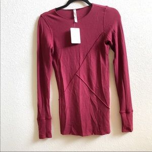 Free People Movement Long Sleeve Workout tee
